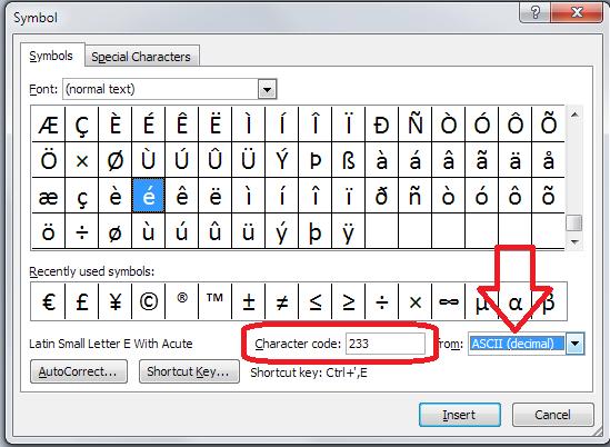 How Do I Use Ascii Letters