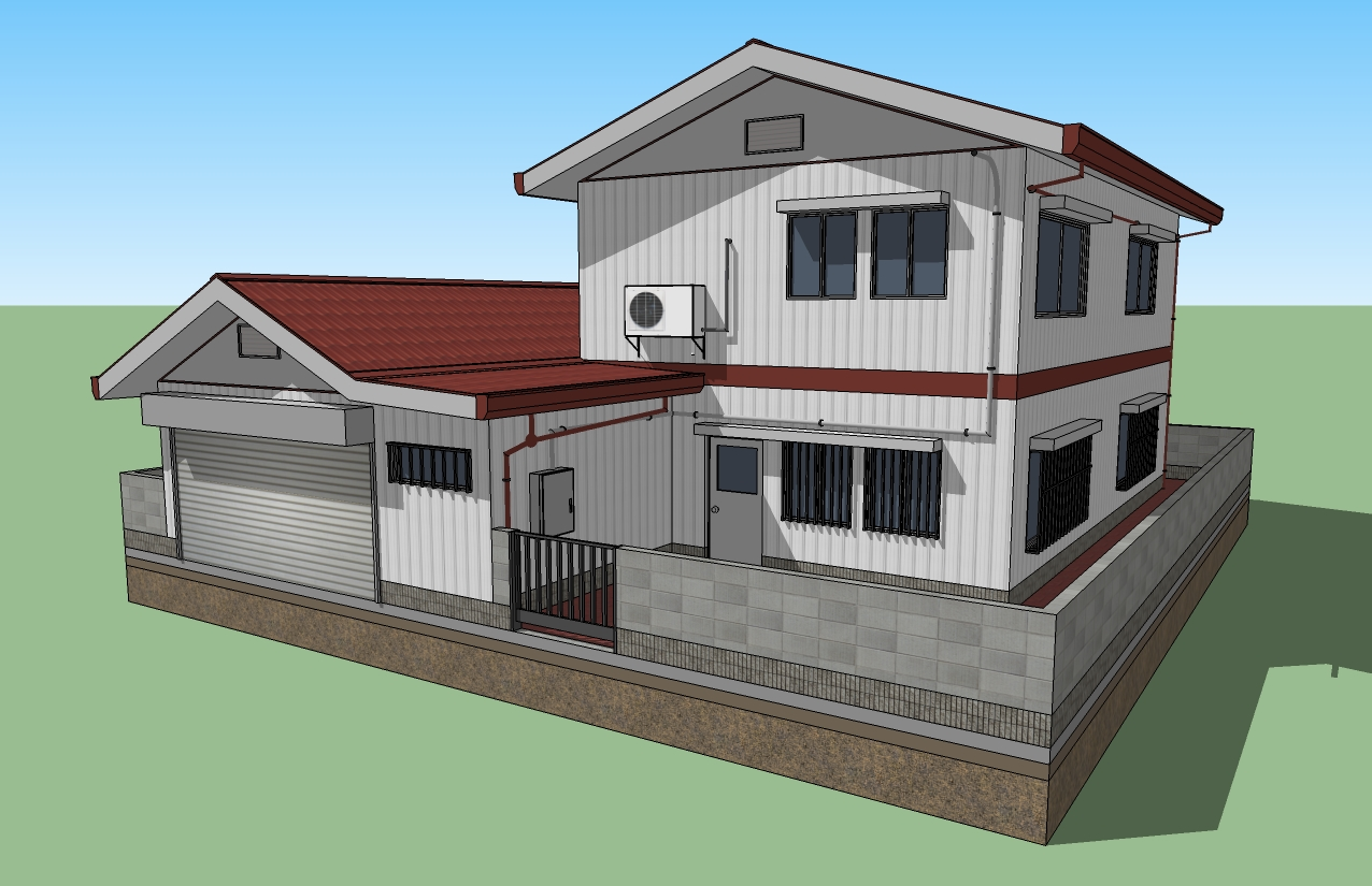 Google sketchup for Google house design